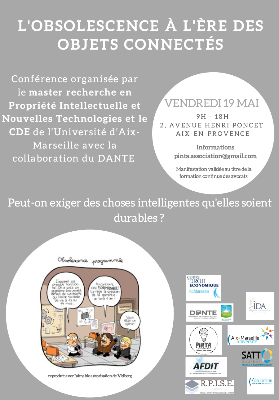 Colloque Obsolescence Programmée