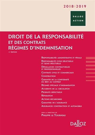 Droit de la Responsabilite et des contrats 2018/2019- Régimes d'indemnisation