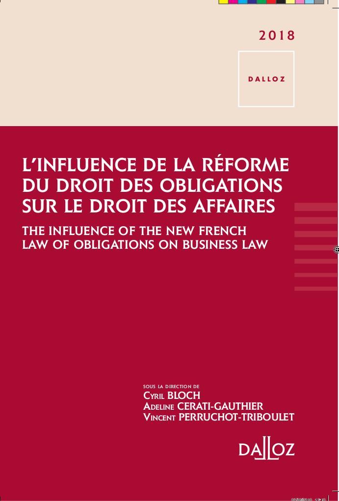 L'influence du Droit des Obligations sur le Droit des Affaires