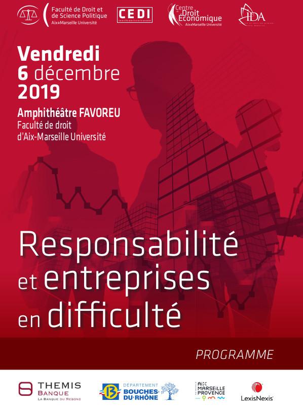Responsabilioté et Entreprises en Difficulté