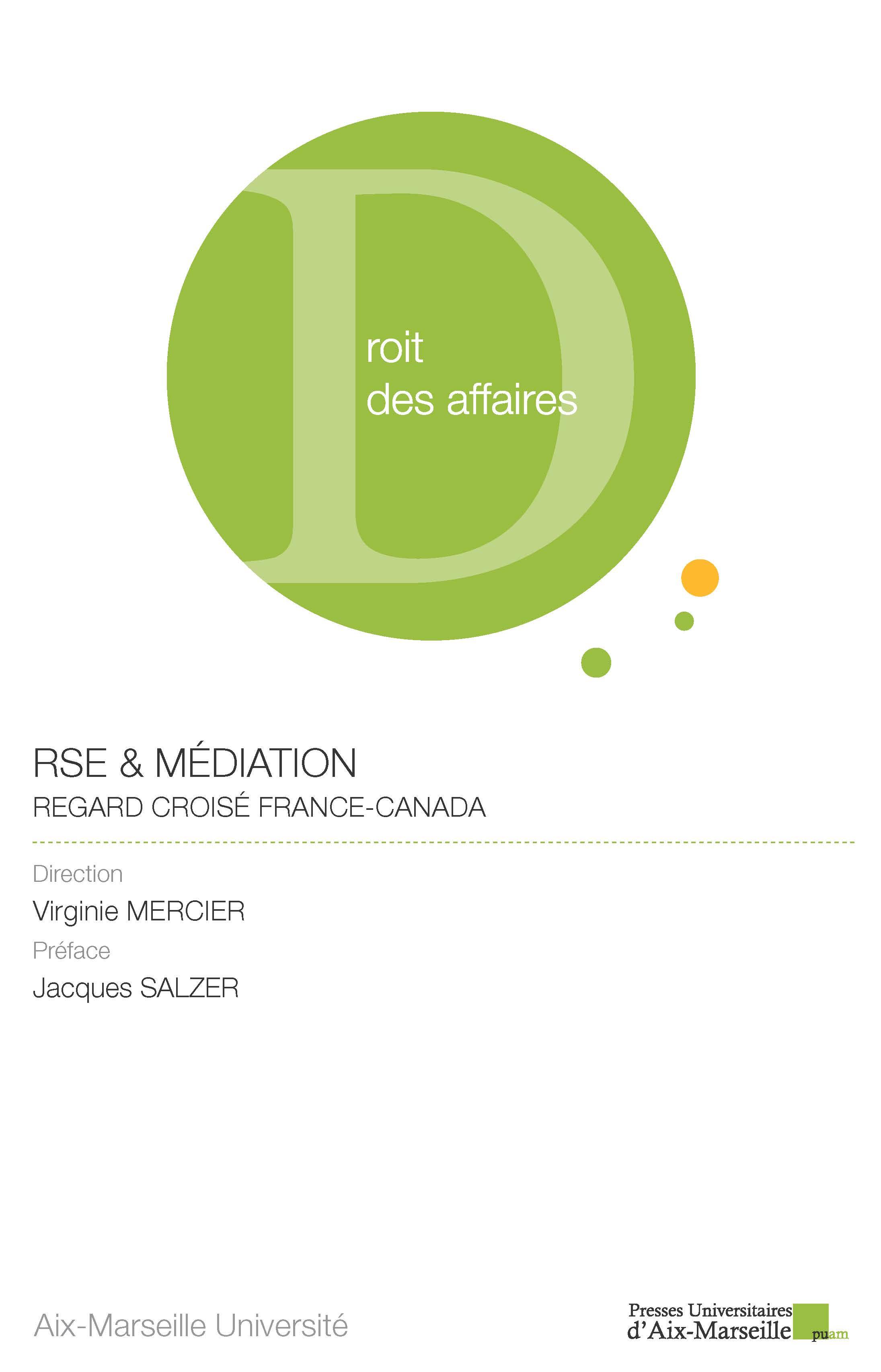 RSE & Médiation - Couverture